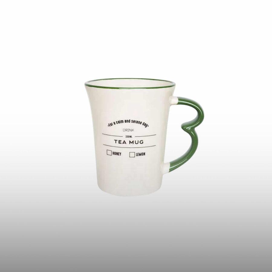 Caneca easy tea mug verde 330mL
