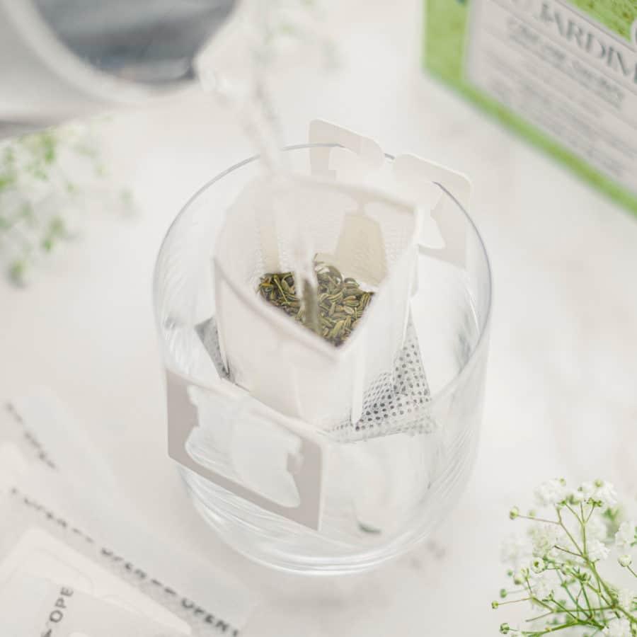 Drip tea - Chá de erva-doce em sachês - Orgânico