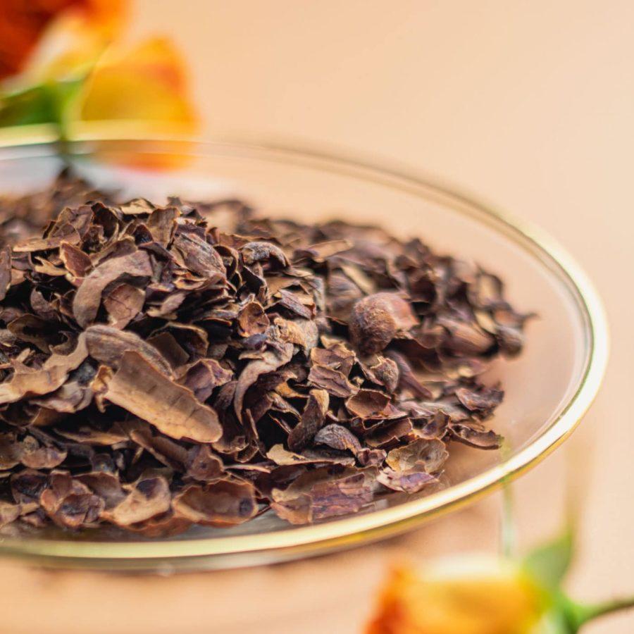 Chá Preto tipo orange pekoe com cascas de cacau - orgânico - Du Jardim
