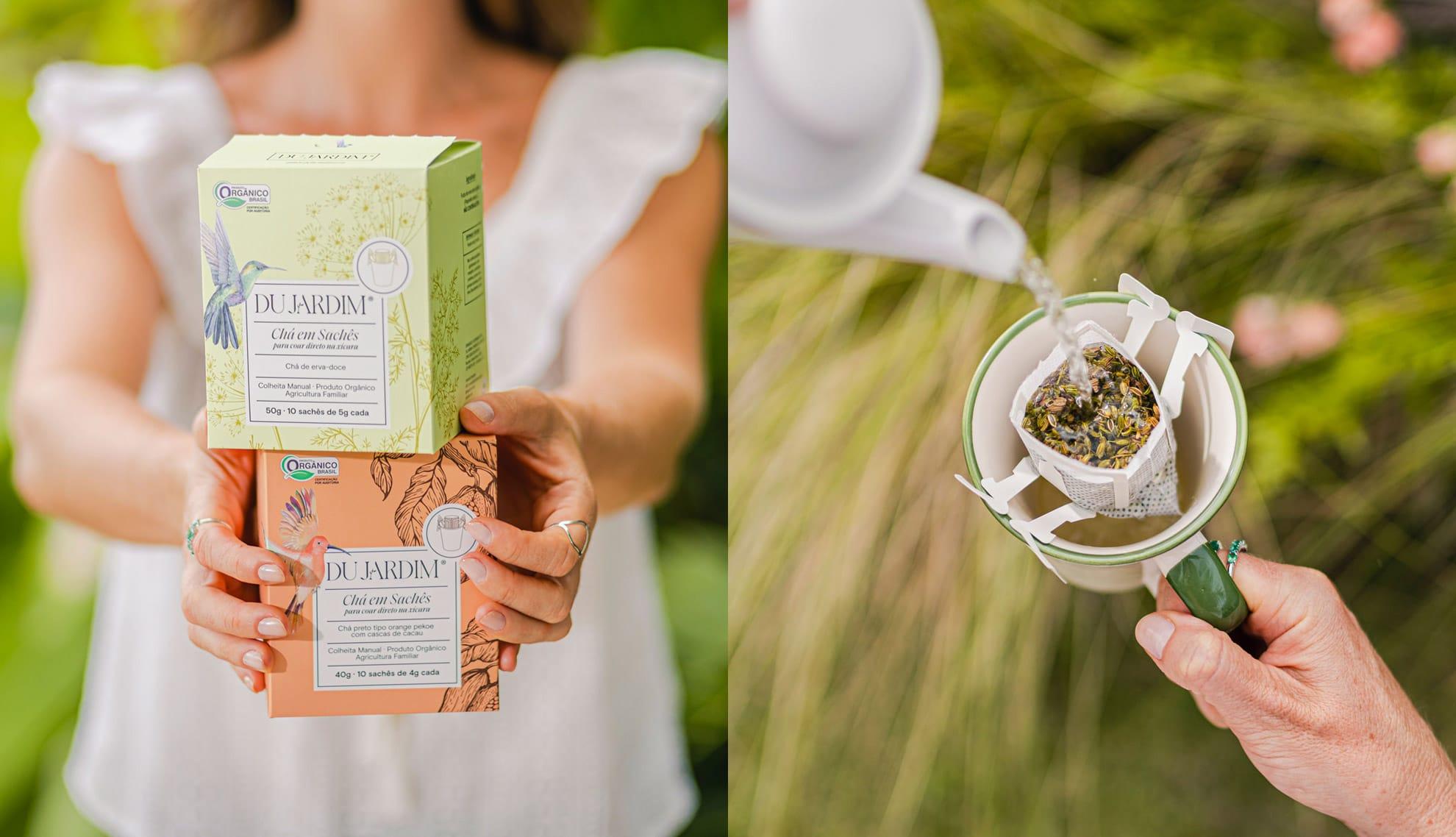 Drip Tea - Chás em sachês
